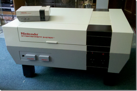 Giant NES Nintendo Coffe table