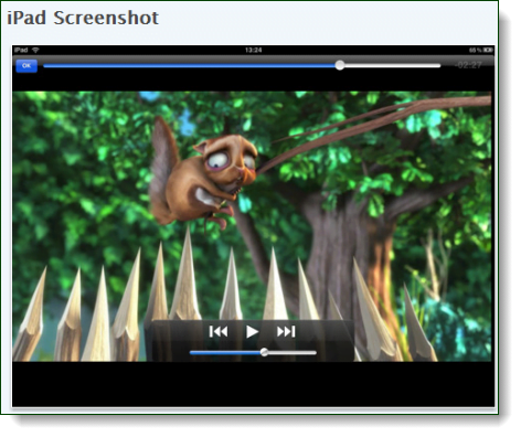vlc player preview on ipad