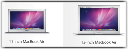 MacBook Air 11 inch vs 13 inch comparison