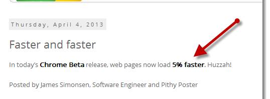 Improve Web Page Load Time With Latest Chrome Beta